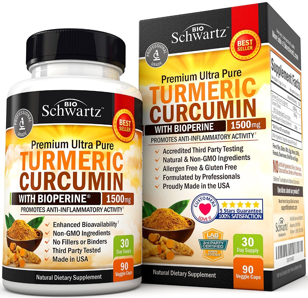 Free shipping Turmeric Curcumin with Bioperine 1500 mg 30 daysupply 90 pcs 50pcs atmega328p pu dip atmega328 pu dip28 atmega328p new and original ic free shipping