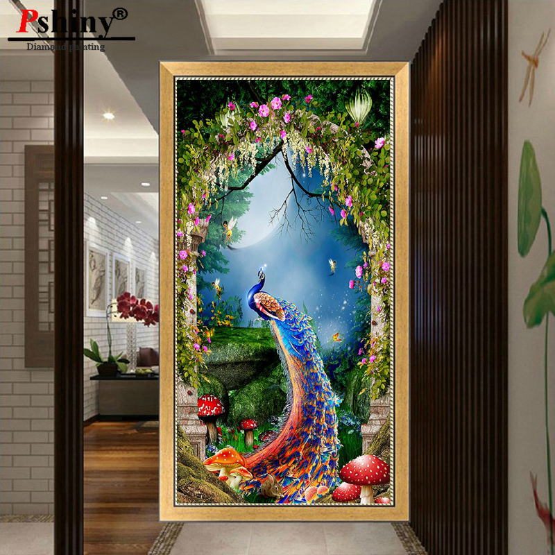 Pshiny 3d diy diamond embroidery cross stitch diamond painting - Arts, Crafts and Sewing - Photo 3