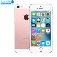 Huella digital Apple iPhone teléfono móvil Original desbloqueado Smartphone A9 iOS 9 Dual-core 4G LTE 2GB de RAM/16/64 GB ROM 4,0