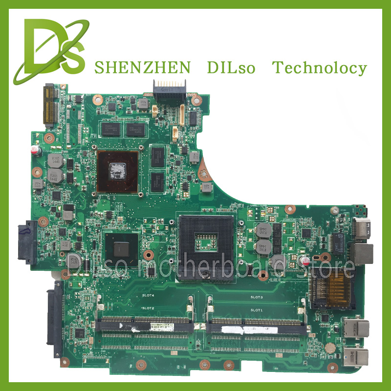 KEFU N53SV motherboard For ASUS N53SV laptop motherboard rev2.2 n53sv n53s motherboard 100% tested original motherboard original laptop motherboard for da0zhrmb6c0 100