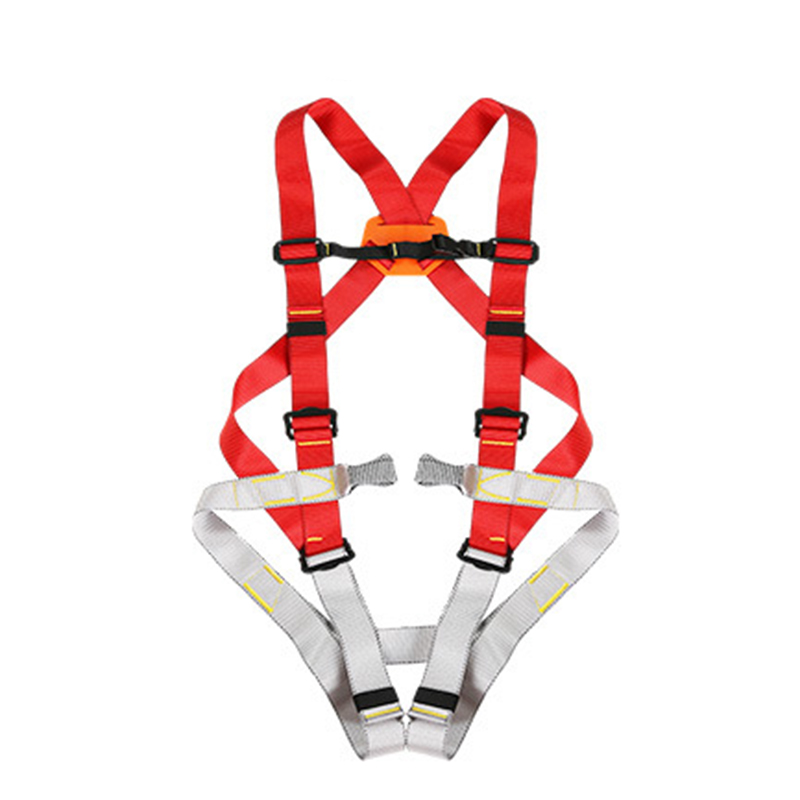 High Quality Rock Climbing Harness Professional Adjustable Safety Belt Outdoor Aerial Job Fire Rescue Straps for Bags with Tools hot sale safety body harness outdoor mountaineering rock climbing harness protect waist seat belt outside multi tools