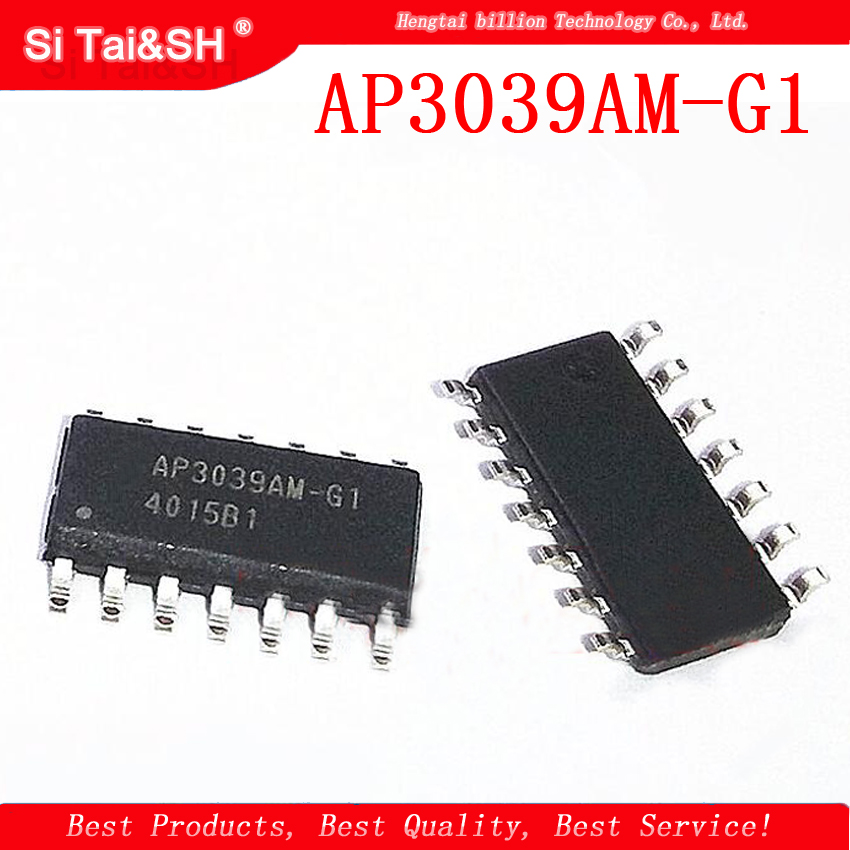 5pcs AP3039AM-G1 SOP-14 AP3039AMTR SOP14 AP3039 SOP AP3039AM new original LCD TV SMD Integrated Block Electronic Module Chip IC