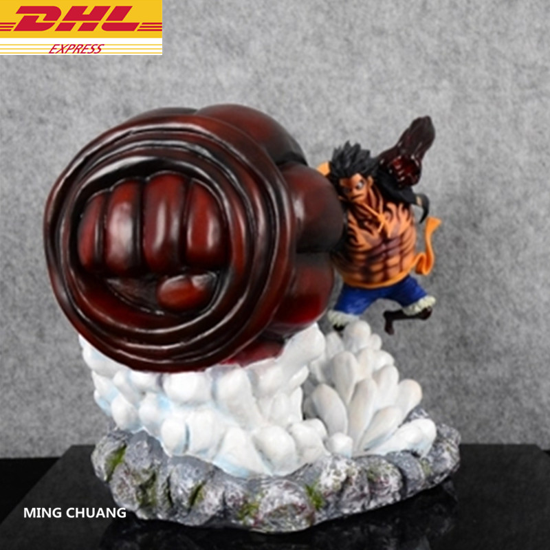 ONE PIECE The Straw Hat Pirates Monkey D. Luffy Full-Length Portrait GK 20CM Action Figure Collectible Model Toy BOX J396