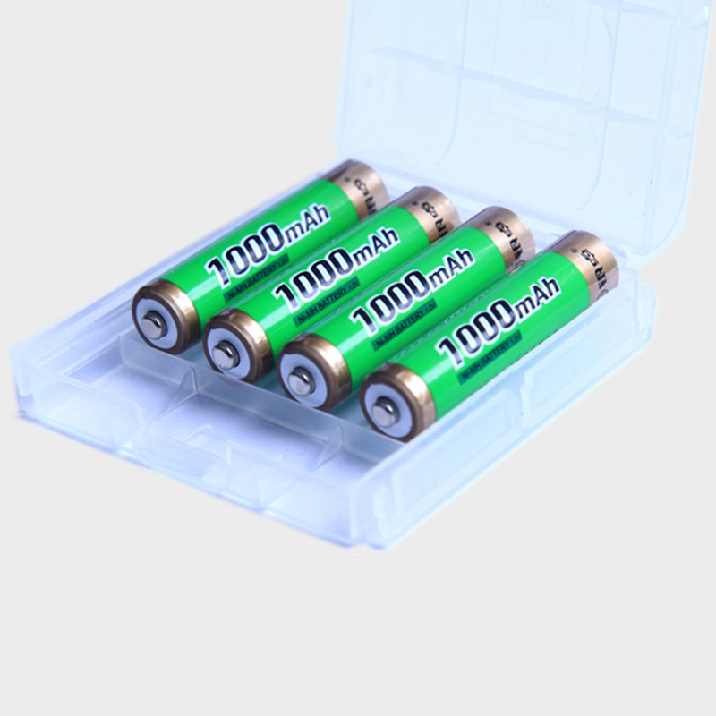1pc/2pc /4pcs/8pcs/10pcs AAA Ni-Mh Battery 1.2V 1000mAh AAA NiMh Rechargeable Battery with High quality