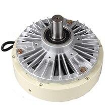 Одноосный тормоз 2,5 кг Магнитный порошковый клатч 24 В регулятор напряжения одноосный Магнитный порошковый двигатель тормоза