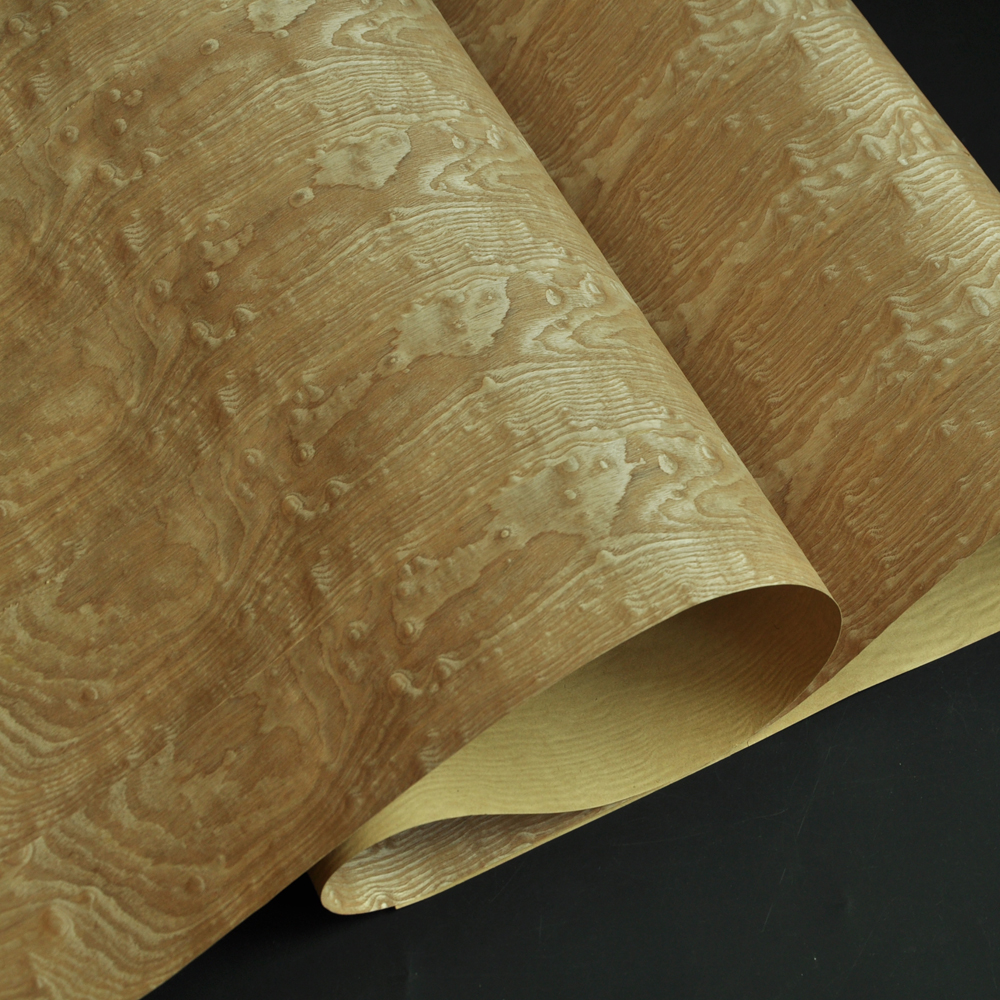 Image 3 - Tamo Figured Ash Wood Veneer with Craft Paper Back-in Furniture Accessories from Furniture