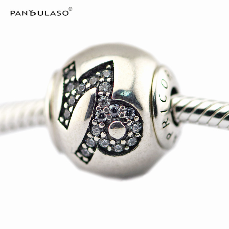 Pandulaso Essence Capricorn Sign Charms Fashion Silver 925 Jewelry Fit Essence Charms Bracelets for Women Small Hole Charms DIY