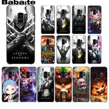 League of legends hero lol สีดำ TPU Soft สำหรับ Samsung Galaxy s9 s8 plus หมาย(China)
