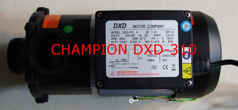 DXD-310A spa bathtub pump 1 HP - 0.75 kW,Fit DXD-310B / DXD-310X / DXD-310X LDPB-140