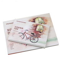 A6 A5 12 Pages Watercolor Painting Paper Water Color Pencil Watercolor Paper Gouache Painting Paper Art Supplies