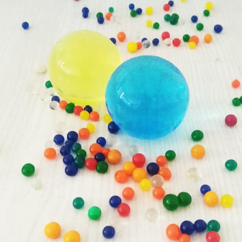 1 kg/sac Orbeez eau hydrogel perles balles pistolets Paintball balles pistolet jouet cristal énorme Overlord perles