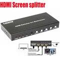 Профессиональный HDMI MultiViewer 2X1 с PIP HDMI сплиттер Экрана 1X2 с RS232 управления