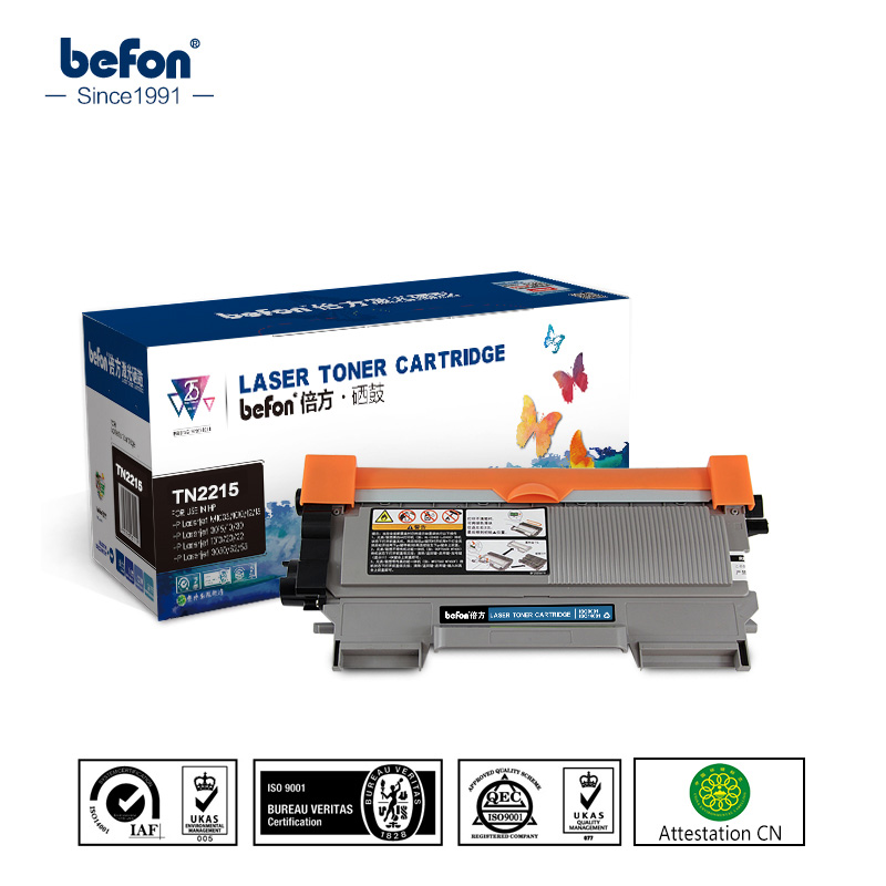 befon Toner <font><b>Cartridge</b></font> TN2215 2215 for <font><b>Brother</b></font> TN420 420 TN2210 TN2230 TN2235 TN2260 2235 2260 <font><b>Brother</b></font> <font><b>HL</b></font> <font><b>2130</b></font> DCP 7055 Printer image