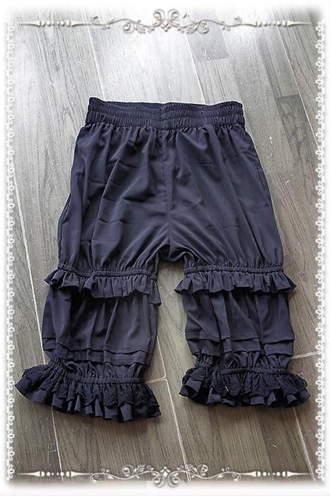 Branded Classic White Lolita Shorts Ruffled Lolita Bloomers av - Damkläder - Foto 2