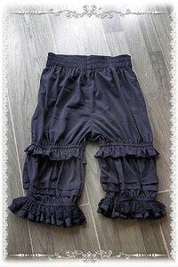Image 2 - Shorts Lolita classiques blancs, de marque, Bloomers à volants, par Infanta