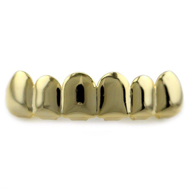 6 Teeth Hip Hop Teeth Solid...