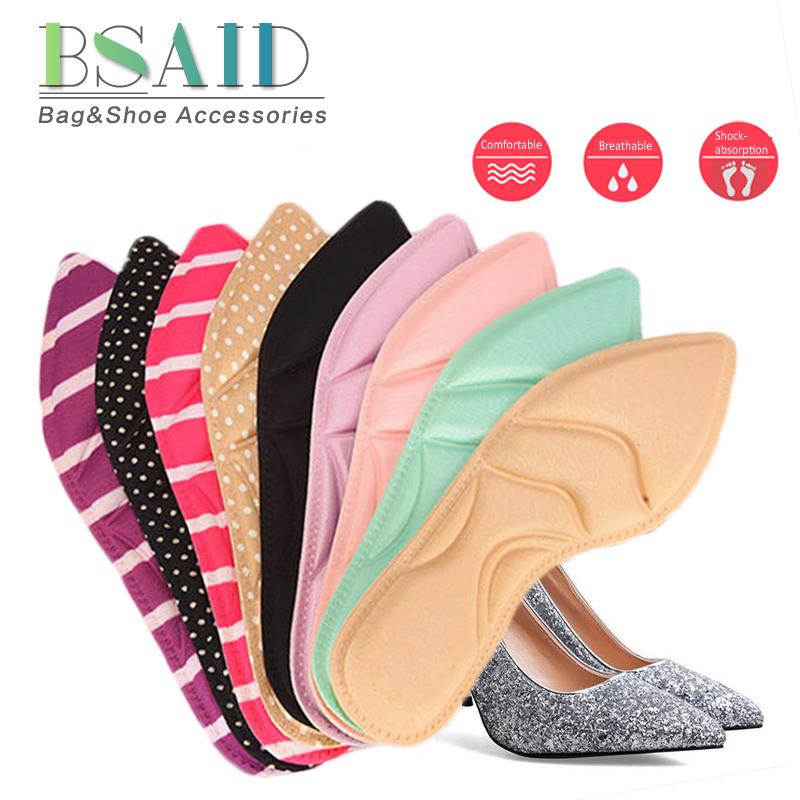BSAID Massage Shoe Insoles Memory Foam Arch Support Orthopedic Insoles For High Heels Cushion Insole Foot Pads For Shoes Women 2pairs lot high memory foam orthotic arch insoles shoe pads foot heel cushion pain relief memory foam shoe insoles insert