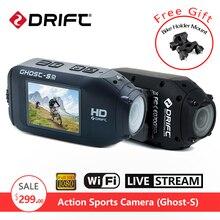 Original DRIFT Ghost-S Sport Action Camera Motorcycle Bike Helmet Waterproof DVR go Bicycle pro Camcorder WiFi Remote Control