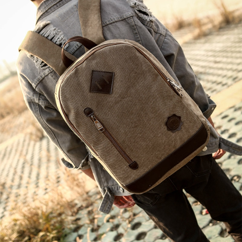 2016 Big Capacity Men Backpack Bags Ipad Canvas Students School Bag double Preppy Style shoulder bag High Quality travel Bags primary school students school bag 3 6 candy color preppy style backpack