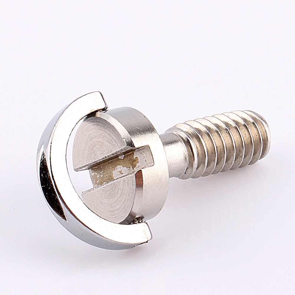 D-Ring Screw,Akozon 1//4 inch D-Ring Screw Stainless Steel For Camera Tripod Quick Release Plate Monopod