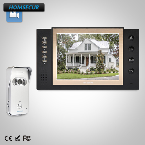 HOMSECUR 8 Video Door Entry Security Intercom+Silver Camera for Home Security TC021-S + TM801R-B lesoto 666 l b silver page 8