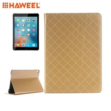 Haweel Tablet Case For iPad Pro 9.7 inch Grid Texture Horizontal Flip Solid Color Leather Case with Card Slots & Holder & Wallet slogan printed grid card holder 20sheets