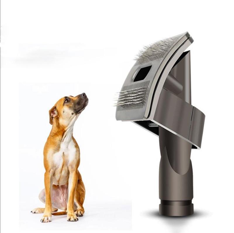 New Design Dog Pet Tool Brush Hair Fur Animal Groom Grooming Animal Allergy Vacuum Cleaner Inner Diameter 1 piece durable quality dog pet tool brush for dyson groom animal allergy vacuum cleaner new arrrival
