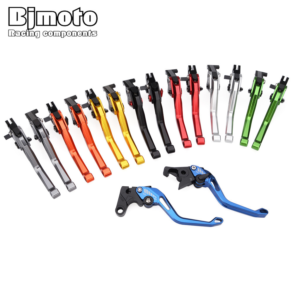 Bjmoto 5DCNC Adjustable Clutch Brake Lever For Yamaha YZF R6 1999-2004 R1 2002-2003 FZ1 FAZER R6S USA VERSION R6S CANADA VERSION 6 colors cnc adjustable motorcycle brake clutch levers for yamaha yzf r6 yzfr6 1999 2004 2005 2016 2017 logo yzf r6 lever