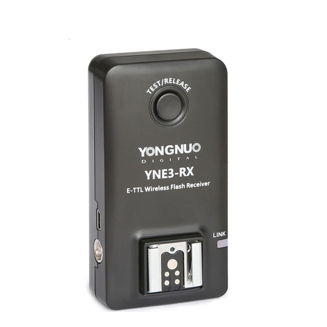 ФОТО Yongnuo YN-E3-RX YNE3-RX e-TTL Wireless Flash Receiver for Canon YN600EX-RT YN568EX II YN-E3-RT