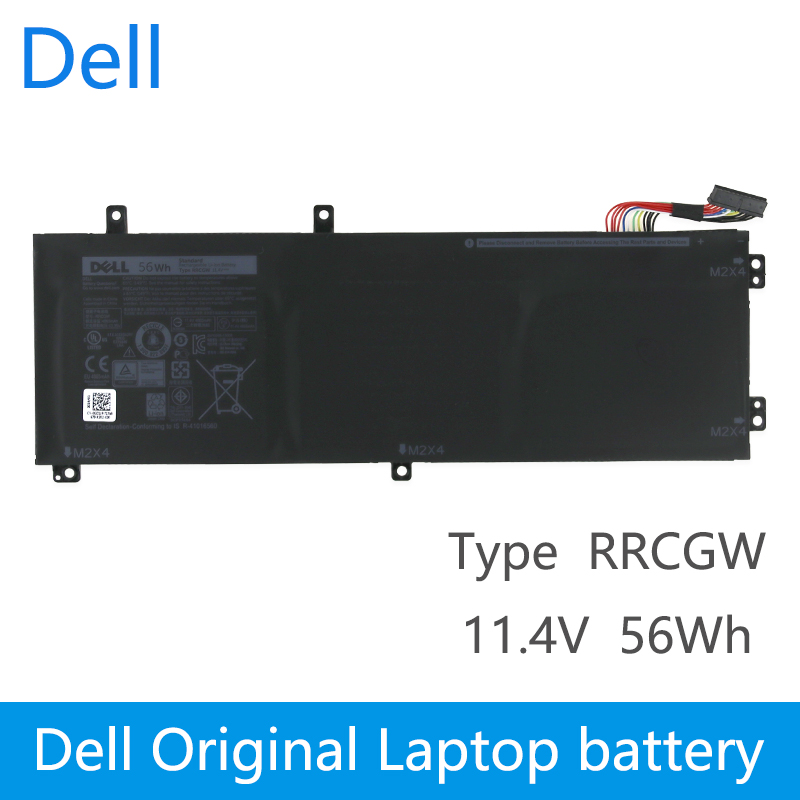 Dell Original New Replacement Laptop Battery For DELL Precision XPS 15 9550 15 5510 batteria RRCGW 062MJV 62MJV M7R96 11.4V 56Wh image