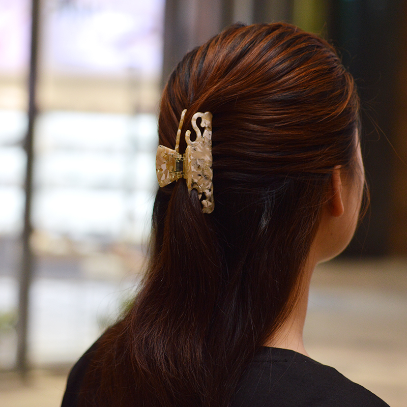 Women headwear retro hair clips for girls fashion hair claw clips for ladies vintage hair accessories for women in Women 39 s Hair Accessories from Apparel Accessories