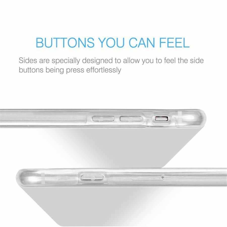 Para Samsung Galaxy A5 A6 A8 Plus 2018 Caso Samsung A3 A5 A7 2017 2016 S6 S7 Borda S8 S9 além disso Caso 360 TPU Casos de Cobertura de Proteção