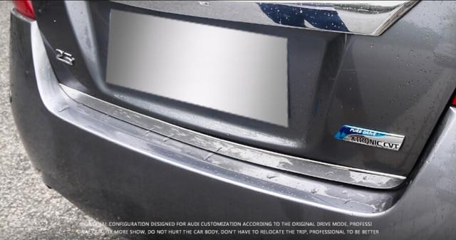 Chrome Rear Door Trunk Lid Stripe Cover Trim For Nissan Altima Teana 2017 2016