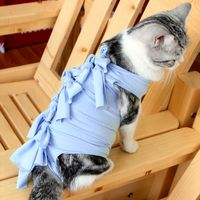 pet-coat-surgeon-sterilization-operation-medical-clothes-cat-dog-kitten-puppy-vest-breathable-soft-blend-cotton-washable-cute