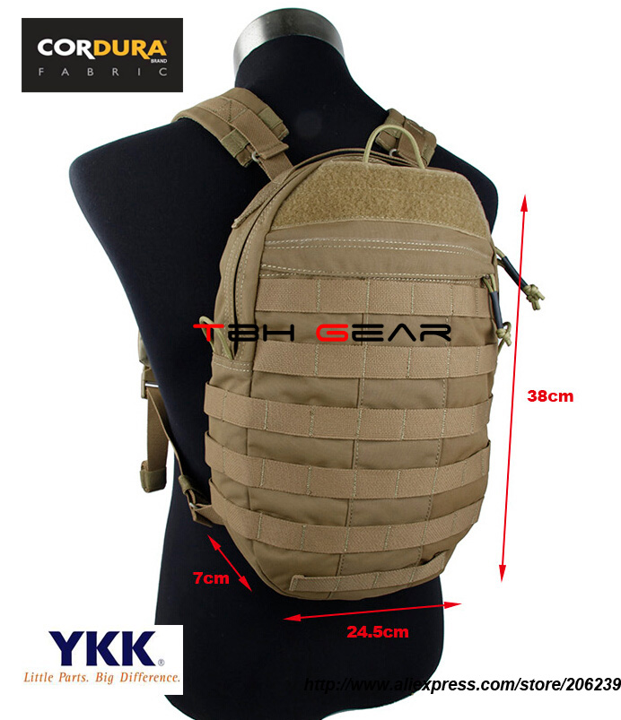 TMC JPC Plate Carrier Backpack Coyote Brown JPC Vest Back Panel Pack Bag+Free shipping(SKU12050816)