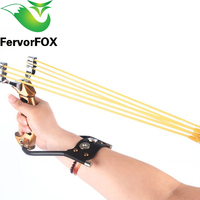 NEW Powerful Aluminium Alloy Slingshot Crossbow Hunting Sling Shot Catapult Camouflage Bow Catapult Outdoor Camping Travel