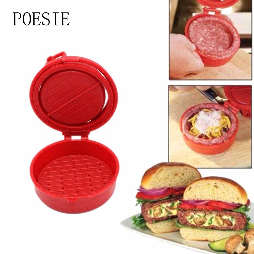 plastica cucina strumenti di cottura mini hamburger di carne press burger tortini maker utensili da cucina