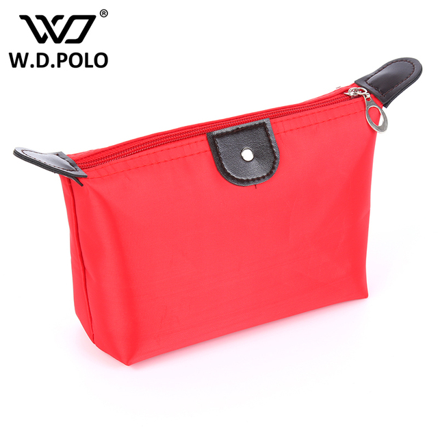 728999bba7f9 WDPOLO women oxford candy color women cosmetic bag Travel Toiletry Kit Make  Up girl washroom bag Cute Cosmetics Pouchs AA137