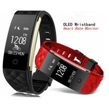 S2 Спорт Смарт запястье браслет Heart Rate Мониторы IP67 Водонепроницаемый Bluetooth smartband для iPhone Android как V07