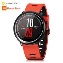 цена на Xiaomi Huami AMAZFIT Pace Smart Watch ROM 4GB GPS WIFI Heart Rate Monitor Sports Smart Watch Men Information Push Global Version
