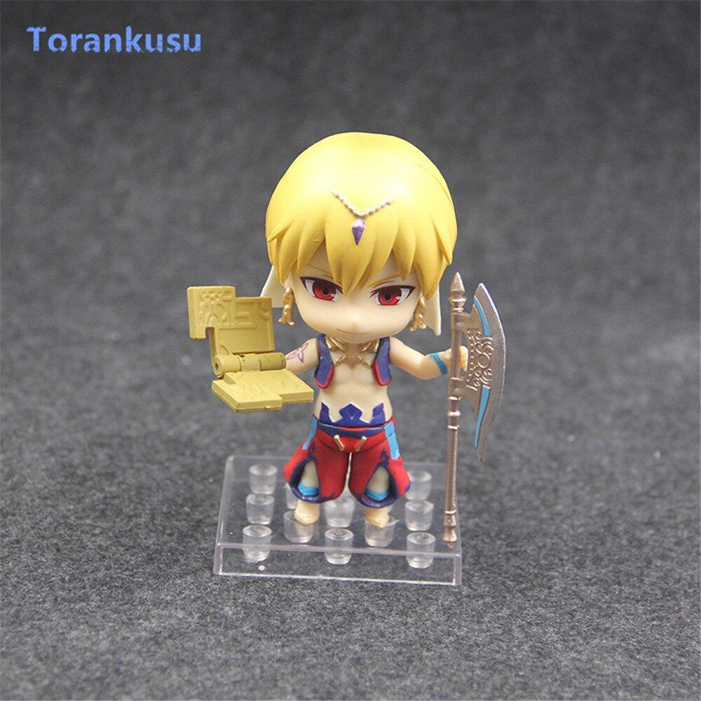 Fate/Grand Order Gilgamesh Action Figures 990# Nendoroid Cute Toys For Children PVC Kids Gift Model Fate Anime Figure Doll PG