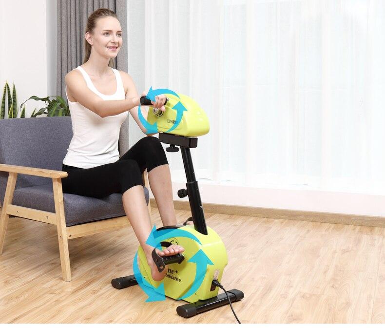 Il trasporto libero 2019 di modo di Riabilitazione macchina gambe e le mani allenatore Mini bike per Handicap, Disabili