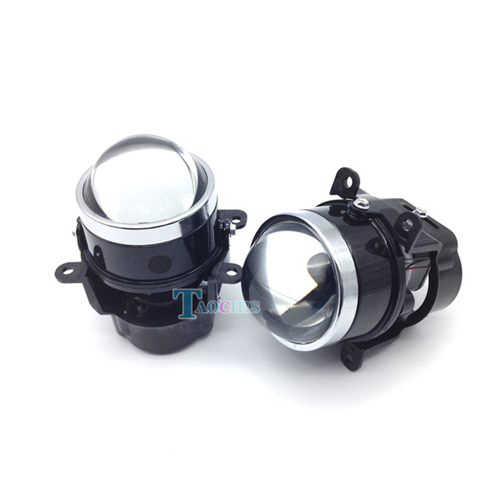 Timbre Luces Low Bay Lighting: 3.0 Inch Bi Xenon Foglamp Projector Lens Xenon Fog Lamp