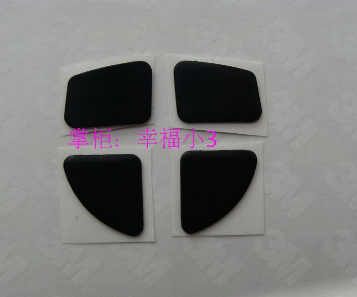 Original 3M Teflon 1mm Mouse Feet For Wireless Mouse Logitech Anywhere MX M905 Professional Gaming Mouse Pad Mouseskate 4grain