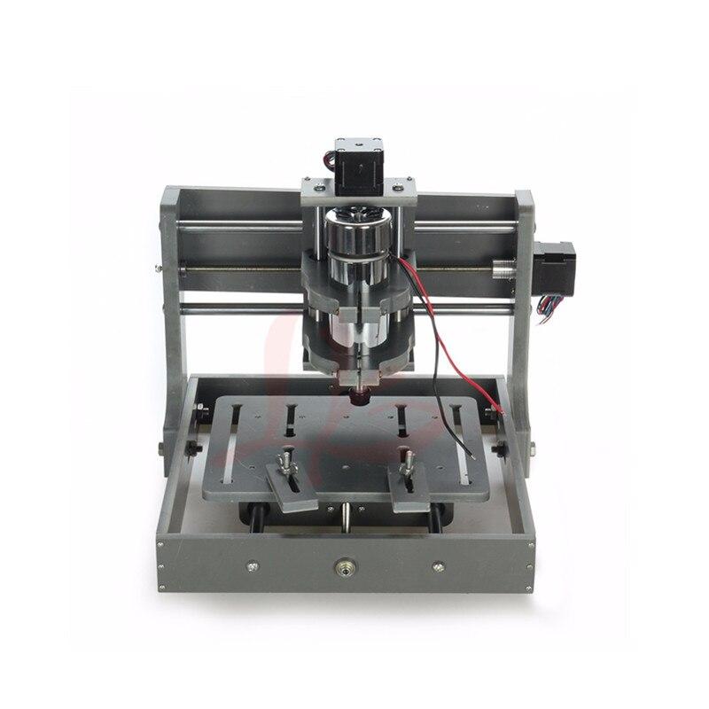 DIY CNC frame mini cnc Milling Machine table 2020 with spindle motor eru free tax 4pcs diy cnc router 2020 frame with motor engraving drilling and milling machine