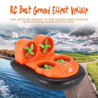 Mirarobot GV160 2.4G 7CH RC Boat Car Ground Effect Vehicle Speedboat Ship Model with 30km/h High Speed LED Version RC Model Toys