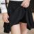 As mulheres saia shorts plus size sexy saias plissadas evitar a exposição vintage faldas alta elasticidade plissada saias das mulheres