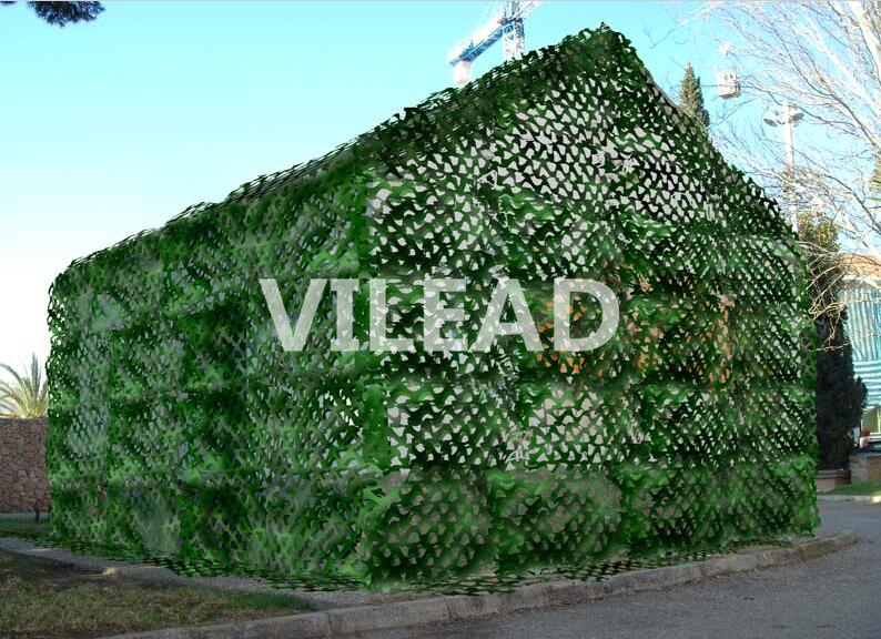 VILEAD 4M*9M Military Camouflage Netting Filet Green Camo Tarp Army Camping Sun Shelter Hunting Shade For Paintball Game Sniper