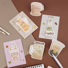 32 pcs/Lot drink sticky notes Icecream Coffee Fruit memo pad Diary stickers Stationery Office decoration School supplies A6134