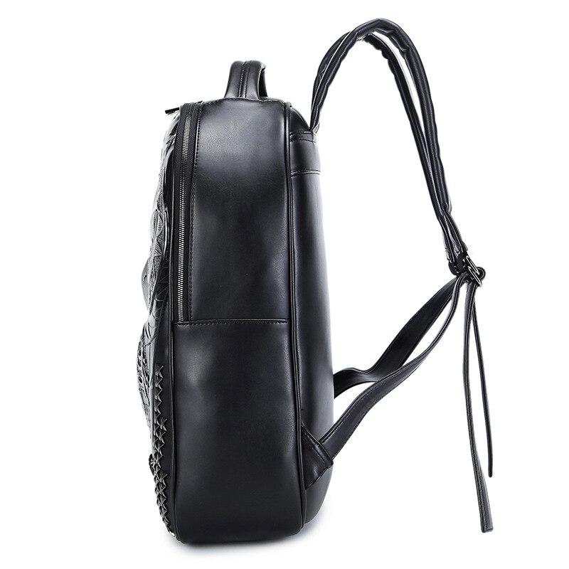 DIOMO Cool 3D hibou sac à dos grands sacs à dos d'ordinateur portable pour les femmes et les hommes sac à dos de haute qualité hommes sacs à dos - 4